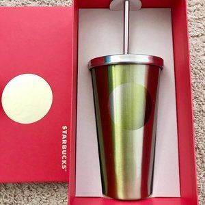 Starbucks Steel Cold Cup Tumbler with Straw 24oz